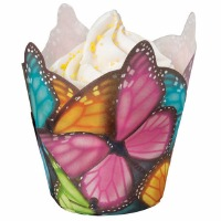 Multi Colored Butterfly Liners