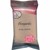 Non-Pareils 16 OZ Pink & White