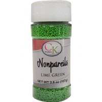 Non-Pareils 3.8 OZ Lime Green