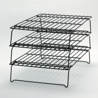 Non-stick 3-Tier Stackable Rak