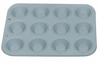 NonStick Ribbed Tart Cup 12 CT