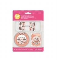 Otter Cupcake Dec Kit 24CT