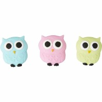 Owl Royal Icing Deco 12 CT
