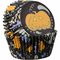 Paisley Spook Bake Cup 75 CT