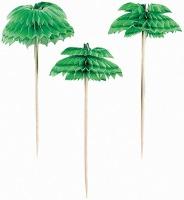 Palm Tree Honeycomb Picks 10CT