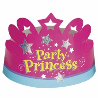 Party Princess Crown 6ct