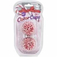 Photo Cups Candy Cane 50 CT