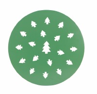 Pie Top Cutter Christmas Trees