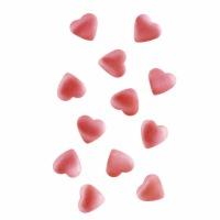 Pink Hearts Edible Glitter