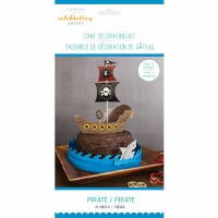 Pirate Cake Deco Kit