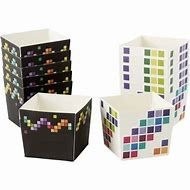 Pixel Square Standard Baking Cup 12 CT