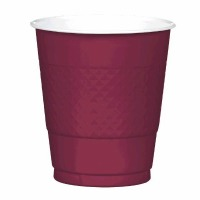 Plastic 12 OZ Cup 20 CT Berry