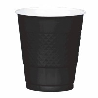Plastic 12 OZ Cup 20 CT Black