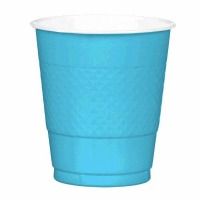 Plastic 12 OZ Cup 20 CT Crbn Blue