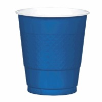 Plastic 12 OZ Cup 20 CT Navy Blue
