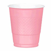 Plastic 12 OZ Cup 20 CT New Pink