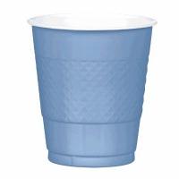 Plastic 12 OZ Cup 20 CT Pastel Blue