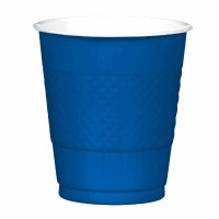 Plastic 12 OZ Cup 20 CT Royal Blue