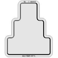 Plastic Pan- 3-Tier Cake 12x9¾