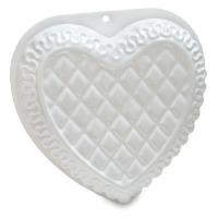 Plastic Pan - Fancy Heart
