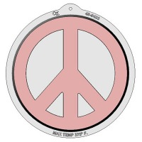 Plastic Pan - Peace Sign