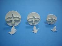 PME Dove Cutter-Set/3