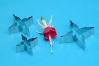 PME Fuchsia Gumpaste Cutters Set 3