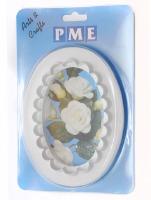 PME Plain Fluted Oval Plq 127 MM