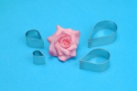 PME Rose Petal Cutter 4PC Set
