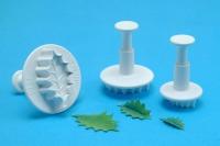 PME Vein Holly Leaf Plunger Set