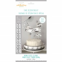 POP.FIZZ.CLINK Cake Deco Kit