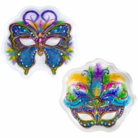 Pop Top Mardi Gras Mask