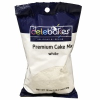Premium Cake Mix 18 OZ White