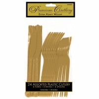 Premium Cutlery 24 CT Gold