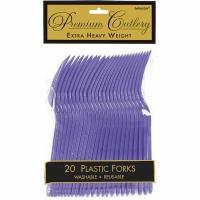 Premium Forks 24 CT Purple