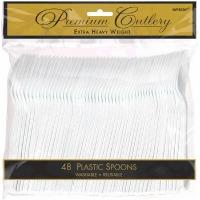 Premium Spoon 48 CT White