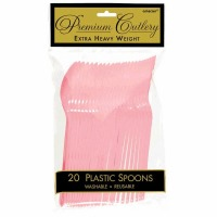 Premium Spoons 24 CT New Pink