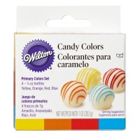 Candy Color Set of 4