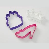 Princess 3pc Cookie Cutter Theme Set