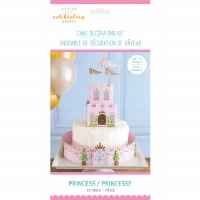 Princess Cake Deco Kit