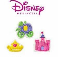 Princess Icing Decorations 9CT