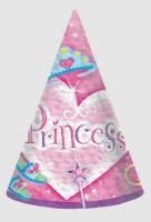 Princess Party Hats 8 CT