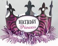 Princess Purple Party Hat