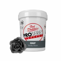 Fat Daddio's PRO Fondant Grey 2 Pounds
