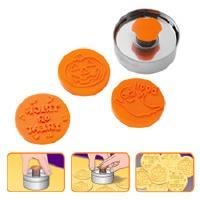 Push N Print Halloween Cookie Cutter Set