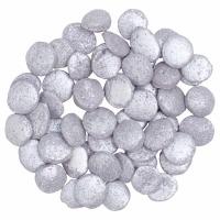 Quins Confetti Silver 3oz