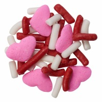 Quins Sweet Heart Sprinkle 3oz