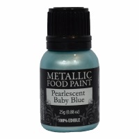 Rainbow Metallic Paint Pearl Baby Blue