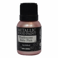 Rainbow Metallic Paint Pearl Baby Pink