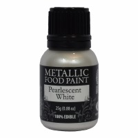 Rainbow Metallic Paint Pearl White